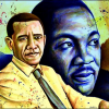 Martin Luther King-Obama. Due uomini, due sogni