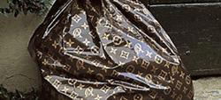 Lusso Louis Vuitton? No grazie…solo rifiuti!!!