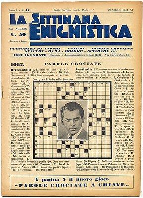 La Settimana Enigmistica  Ottobre 1932